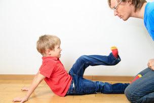 Minha filha me bateu!